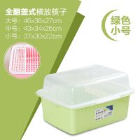 大号碗柜塑料沥水碗架带盖厨房餐具碗筷收纳盒碗盘置物架放碗箱子z
