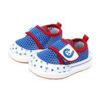 夏季婴儿学步鞋软底男宝宝透气网面凉鞋网鞋女小童鞋子