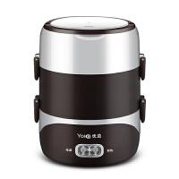 热饭盒三层可插电加热自动保温便携迷你蒸煮带热饭神器1人2