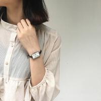 小巧迷你气质手表女学生韩版时尚潮流休闲文艺细带小方形简约女款