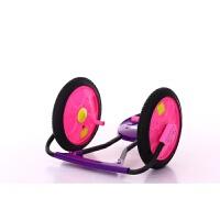 儿童广场悠悠车滑行摇摆溜溜车音乐闪光手摇扭扭车3-8岁滑板车 粉色加外胎音乐灯光 送电池螺丝刀
