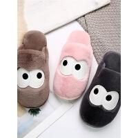 儿童棉拖鞋男女童亲子大中童拖鞋冬居家室内防滑简单棉拖