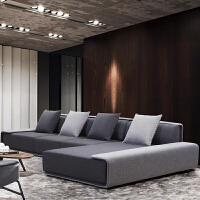 办公沙发钢架沙发 布艺沙发欧陆钢架简约现代北欧沙发