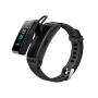 华为手环B5 (蓝牙耳机+智能手环+心率监测+彩屏+触控+压力监测+Android+IOS通用+运动手环) 运动版 韵律黑