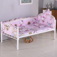 韩款儿童床围可拆洗防撞婴儿床品皇冠床头靠垫三四件套件定制