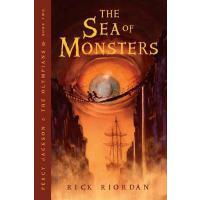 [现货]英文原版The Sea of Monsters 波西杰克逊与魔兽之海