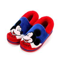 男童女童宝宝防滑小孩室内棉鞋冬季儿童棉拖鞋包