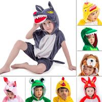 六一儿童动物表演服装演出服装青蛙小鸡兔子鸭子恐龙小狗演出衣服幼儿园女