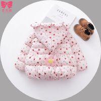 女宝宝冬装 0一1-2-3岁女童装保暖棉衣婴儿手塞棉加厚外套小棉袄