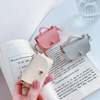 耳机收纳包小可爱数据线充电器线整理U盘盒子耳机线保护套便携小巧零钱袋子耳塞收纳盒耳机袋收纳神器保护盒