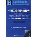 中国工业化进程报告(1995~2005年)中国省域工业化水平评价与研究(含光盘)