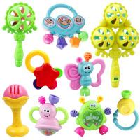 小孩牙咬胶牙胶半岁2儿童手拿玩具摇铃几个月宝宝的玩具0-1岁