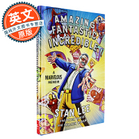 Stan Lee 斯坦李自传 英文原版 漫威之父:超级英雄的诞生 Amazing Fantastic Incredible: A Marvelous Memoir  全彩图文 精装版
