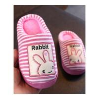 儿童棉拖鞋冬男童女童可爱宝宝2-5-8岁厚底防滑卡通室内居家棉拖