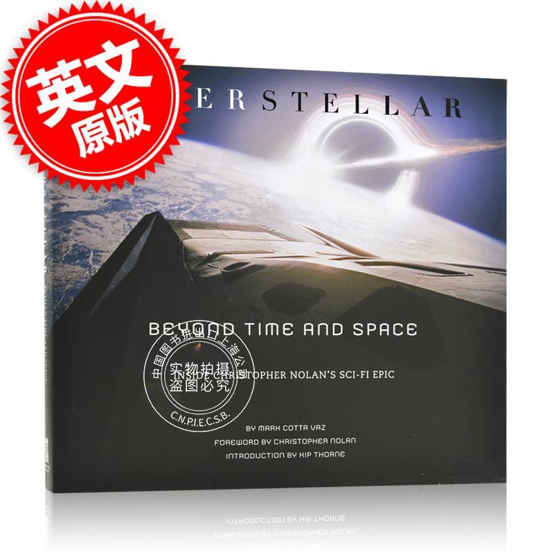 [现货]英文原版 Interstellar: Beyond Time and Space 星际穿越 设定 Interstellar: Beyond Time and Space