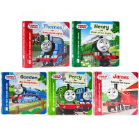 小火车托马斯和他的朋友们系列5册 英文原版绘本Thomas & Friends Thomas Gordon James