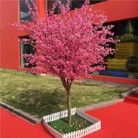 仿真桃花树樱花树许愿树假树大型客厅酒店商城楼盘大堂装饰婚庆