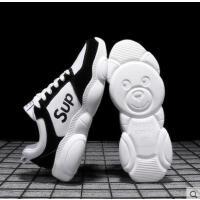 新款户外新品网红同款潮鞋ins男鞋子韩版潮流百搭男士休闲增高小熊鞋