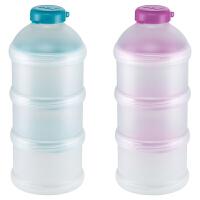 NUK 奶粉分装盒定量储存盒 蓝紫随机发货