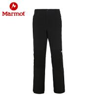 Marmot/土拨鼠男款秋冬保暖防泼水M2软壳裤