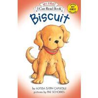 [现货]英文原版 Biscuit 汪培�E早教系列 I Can Read