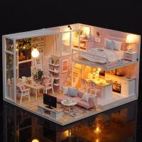 7-8-9-10岁儿童玩具手工大房子娃娃家屋女孩子小公主朋友生日礼物