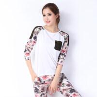 大码运动套装款韩版休闲套装女装时尚精品时尚休闲套装