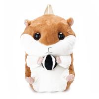 土拨鼠玩偶 仓鼠公仔暖手捂抱枕手暖背包两用土拨鼠毛绒玩具玩偶布娃娃送女孩 40厘米-49厘米