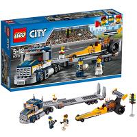 [当当自营]LEGO 乐高 City城市系列 高速赛车运输车 积木拼插儿童益智玩具60151