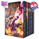 【中商原版】故事小偷全集(5本套装)英文原版 Story Thieves Complete Collection 奇幻