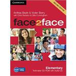 【预订】Face2face Elementary Testmaker CD-ROM and Audio CD 9781