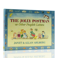 The Jolly Postman Or Other People's Letters快乐的邮递员 英文原版精装绘本儿童