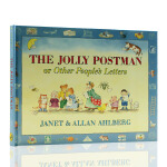 The Jolly Postman Or Other People's Letters快乐的邮递员 英文原版精装绘本儿