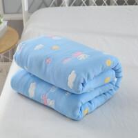 毛巾被纯棉单人双人婴儿六层纱布夏季儿童午睡毯老式毛巾毯空调被z定制