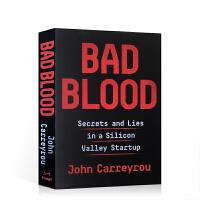 顺丰包邮 英文原版 Bad Blood 滴血成金 坏血 硅谷独角兽的骗局 John Carreyrou 女乔布斯 谎言