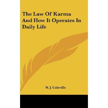 【预订】The Law of Karma and How It Operates in Daily Life 预订商品,需要1-3个月发货,非质量问题不接受退换货。