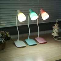 护眼台灯可充电宿舍学习小台灯书桌大学生触摸调光卧室床头灯