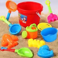 贝贝鸭儿童沙滩玩具套装宝宝玩沙子挖沙漏铲子工具决明子婴儿玩具