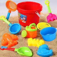 【14件套】儿童沙滩玩具套装宝宝玩沙子挖沙漏铲子工具决明子婴儿玩具