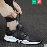 新款男鞋夏季透气韩版潮流帆布鞋男士运动休闲鞋百搭小白潮鞋