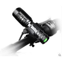 前灯骑行装备    实用自行车灯    T6配件尾灯    强光山地车手电筒