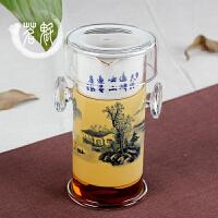 玻璃红茶泡冲茶器陶瓷不锈钢内胆过滤泡茶壶普洱茶具茶杯