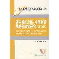 【95成新旧书】通向崛起之路:中国财经战略与政策研究(2009) 王雍君,陈灵