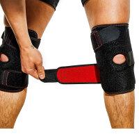防滑防撞支撑护膝铝合金支架登山护膝健身康复运动护膝