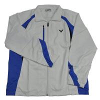 VICTOR胜利 防风防水透气长袖羽毛球服男款休闲运动服外套J-2063