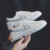 冬季2018女帆布鞋原宿ulzzang学生韩版百搭小白鞋超火板鞋