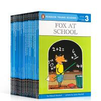 英文原版 Penguin Young Readers Level 3 系列全套23本 汪培�E第三阶段读物 英文课外读物