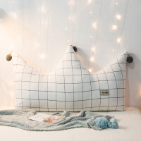 ins靠垫床头网红长靠枕沙发大靠背榻榻米软包少女公主宿舍