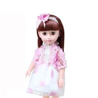 会眨眼睛的布娃娃 会眨眼会说话的芭比智能仿真洋娃娃婴儿儿童女孩玩具公主巴比布娃 4D会眨眼【娃娃身高42CM】
