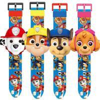 儿童玩具电子手表奥特曼幼儿园男女孩玩具卡通发光投影手表抖音
